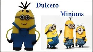 getlinkyoutube.com-COMO HACER DULCERO DE MINIONS