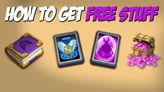 getlinkyoutube.com-Castle Clash How To Get Free Gems and More Free stuff!
