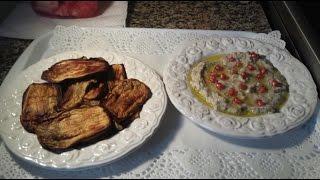 getlinkyoutube.com-كيف نقلي الباذنجان بدون زيت  How to fry Eggplant without oil
