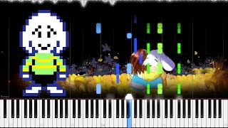 getlinkyoutube.com-Undertale // His Theme // Piano // TuTORIEL // OST 90