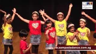 getlinkyoutube.com-Kids dance performance on Sorry Sorry song by Sampada's Dance Studio students