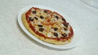 getlinkyoutube.com-No Oven Pizza - Stove top Pizza - Video recipe by Bhavna