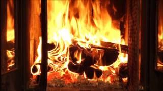 getlinkyoutube.com-Kaminfeuer Full HD - zum Entspannen - 2 HOURS thunder, rain, fireplace