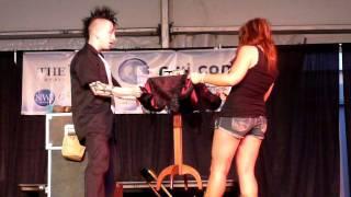 getlinkyoutube.com-Dan Sperry table trick at Porter County Fair