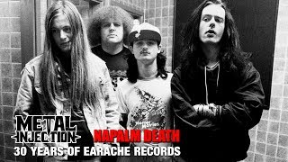 How NAPALM DEATH Line Up Changes Helped - 30 Years Of Earache Records| Metal Injection