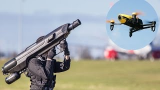 getlinkyoutube.com-4 WAYS TO TAKE DOWN ILLEGAL DRONES