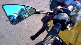 getlinkyoutube.com-Twister CBX 250 Amarela equipada com peças do Tiozão!!!!