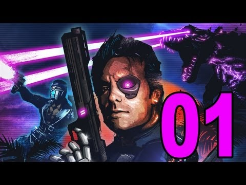Far Cry 3: Blood Dragon DLC - Part 1 - Cyber Commando (Lets' Play, Walkthrough, Guide)