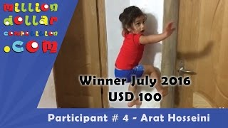 getlinkyoutube.com-Contestant #4, MillionDollarCompetition, Arat Hosseini
