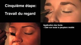 "getlinkyoutube.com-Tutoriel Vidéo maquillage ""Color clash"" by Bénédicte Ngiambila"