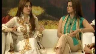getlinkyoutube.com-Noor & Dr. Shaista Wahidi on Nestle Nesvita WOS '09 TV Show - Part 2