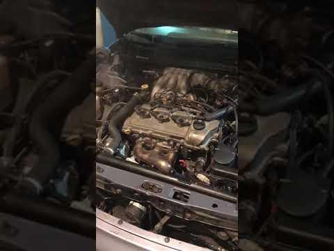 Запуск двигателя Toyota Avalon