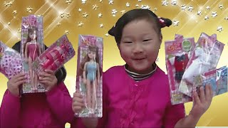 getlinkyoutube.com-【Licca? it's Elly!』リカちゃんの代わりに、エリーちゃんで着せ替え遊びをしました☆ 『ダイソー 着せ替え エリーちゃん』