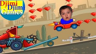 getlinkyoutube.com-Сool car games with Djimi - car eats car 4 lv