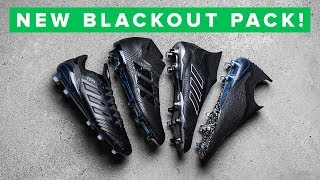 Blackout adidas Shadow Mode football boots - as good as it gets width=