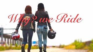 getlinkyoutube.com-レディースバイカーver4バイクに乗る女性はいつまでも若い
