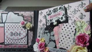 getlinkyoutube.com-Beautiful Baby Girl Album- Teresa Collins Chic Bebe - 1MICHELLEJOY