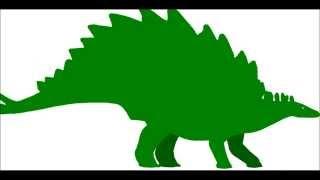 Tyrannosaurus vs Stegosaurus