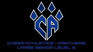 getlinkyoutube.com-Cheer Athletics Panthers CheerMix Senior Large Level 5 2012-2013 Music W/ Lyrics