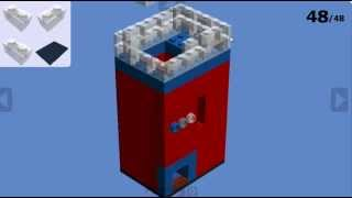 how to make a lego coin operated candy machine