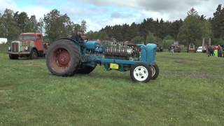 getlinkyoutube.com-Fordson major with a Rolls Royce V12 engine in 2014