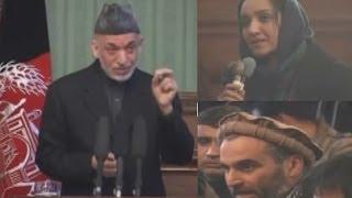 getlinkyoutube.com-داغ ترين سوالات دو ژورناليست از حامد کرزی در مورد پيمان امنيتی Karzai replies