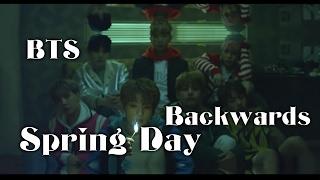 BTS Spring Day Backwards AKA Ghosts