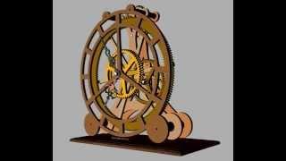 Clayton Boyer's Epicyclic Clock