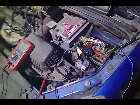 Прикол с главным реле Peugeot 307 TU5JP4
