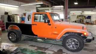 getlinkyoutube.com-Custom Jeep Wrangler JK-8 (Truck Conversion)