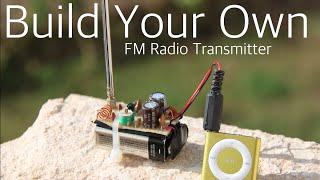 getlinkyoutube.com-How to build a FM radio transmitter