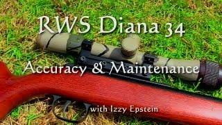 getlinkyoutube.com-RWS Diana 34 Accuracy & Maintenance