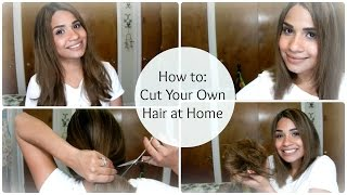 getlinkyoutube.com-How to: Cut Your Own Hair at Home ♥ A-Line Bob | byBelle4u