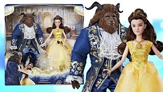 getlinkyoutube.com-DISNEY BEAUTY & THE BEAST GRAND ROMANCE PLAYSET DOLL REVIEW - NEW LIVE ACTION MOVIE DOLLS