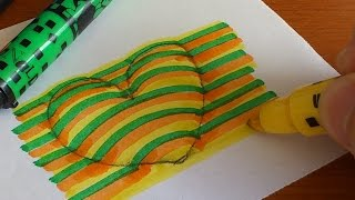 getlinkyoutube.com-How to Draw a 3D Love Heart