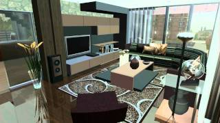 getlinkyoutube.com-SIMS 3 House design VR.3 .HILLWOOD