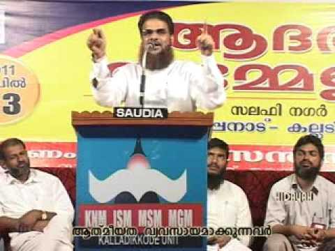 "Aathmiyatha-Vyavasaayam...""part-03 Hussain salafi speech 2011 muslim kerala"