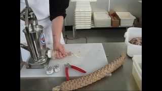 getlinkyoutube.com-Stuffing Sausage & Salami with 5 Lb. Stuffer