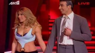 getlinkyoutube.com-Dancing with the stars - Errika Prezerakou, Thodoris Panagakos - Free Style