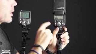 getlinkyoutube.com-Yongnuo 560 TX Aufsteckblitz Fernsteuerung Bedienung und Konfiguration