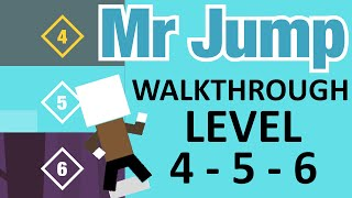 getlinkyoutube.com-MR JUMP Walkthrough | Level 4, Level 5, Level 6 Complete Stage Run | iOS Gameplay (iPhone, iPad)