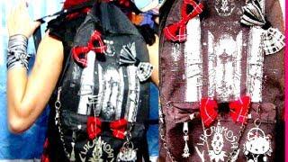 getlinkyoutube.com-❤ PERSONALIZA tu bolso o MOCHILA ❤ ¡simple!