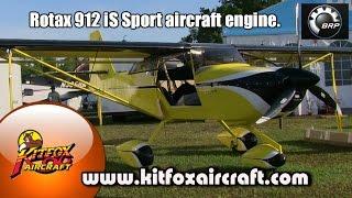 getlinkyoutube.com-Kitfox Aircraft's John McBean on the Rotax 912 iS Sport Aircraft Engine update.