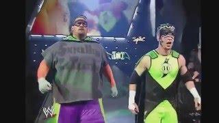 WWE Raw 10 Man Tag Team Match 9/8/03