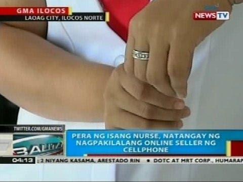 ng isang nurse, natangay ng nagpakilalang online seller ng cellphone