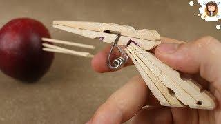 getlinkyoutube.com-How to Make a Mini Gun - (Clothespin Pistol)
