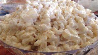 Filipino Macaroni Chicken Salad Lutong Pinoy Recipe