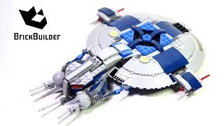 getlinkyoutube.com-Lego Star Wars 75042 Droid Gunship Build and review