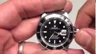 getlinkyoutube.com-Question Mark:  How To Spot A Fake Rolex