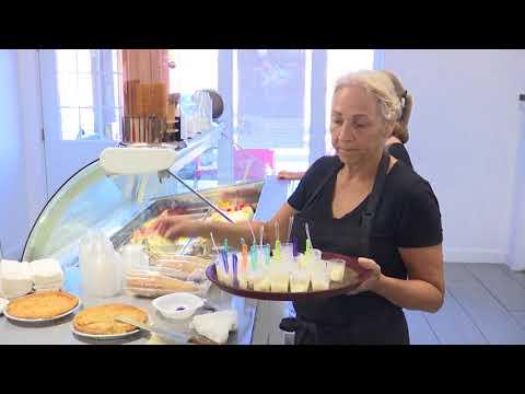 Gelato inspiré de la tarte au sucre de la Grande Ferme